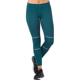asics Lite-Show 7/8 Tights Women Blue Steel